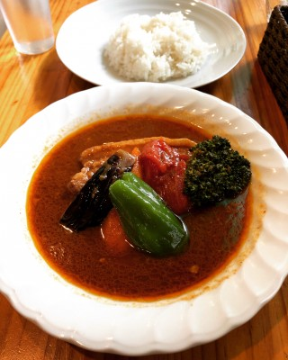 I went to the transferred Soup Curry Kamui