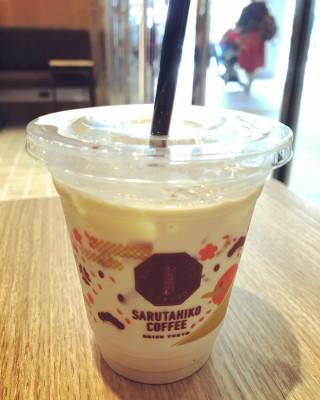 I went to Sarutahiko Coffee opened in Atre Akihabara 1