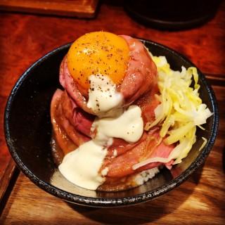 ローストビーフ丼 - Roast Beef Ohno