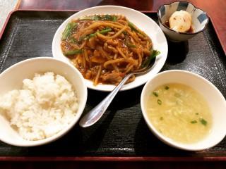 豚肉と玉子炒め - Peking Hanten