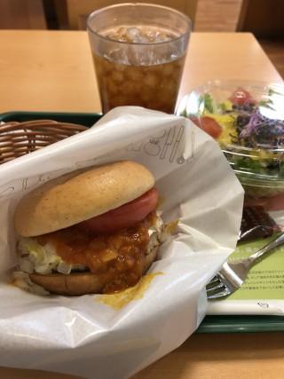 野菜が新鮮 - MOS BURGER Akihabara Suehirocho